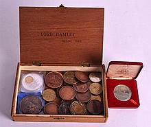 A COLLECTION OF PRESENTATION MEDALLIONS including