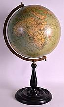 A GOOD QUALITY REPRODUCTION TERRESTRIAL GLOBE supp