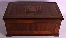 A LARGE SWISS MUSICAL BOX playing eight airs, with