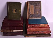 A COLLECTION OF 19TH CENTURY BOOKS including A lif