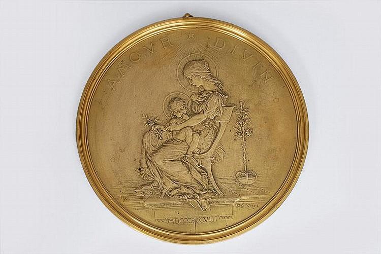 Roiné, Jules Edouard - Nantes 1857 1916A plaque