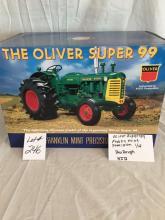 Oliver Super 99  Franklin Mint Precision  Box rough  1/12