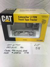 CAT 2-Ton- 1993 Ertl Crawler, 1926 model, shelf model #2438DO