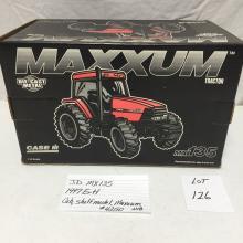 JD MX135  1997 Ertl  cab, shelf model, Maxxum #4250