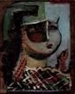 Ervand KOTCHAR (1899-1979) Houri. Huile sur toile.
