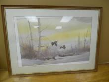 Signed and Numbered Print by T. Sander (Birds)