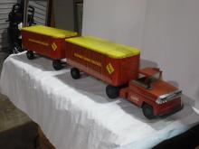 Antique Toy Trucks, Collectibles, Cherry Furniture, Vintage Kiddie Rides, And More!