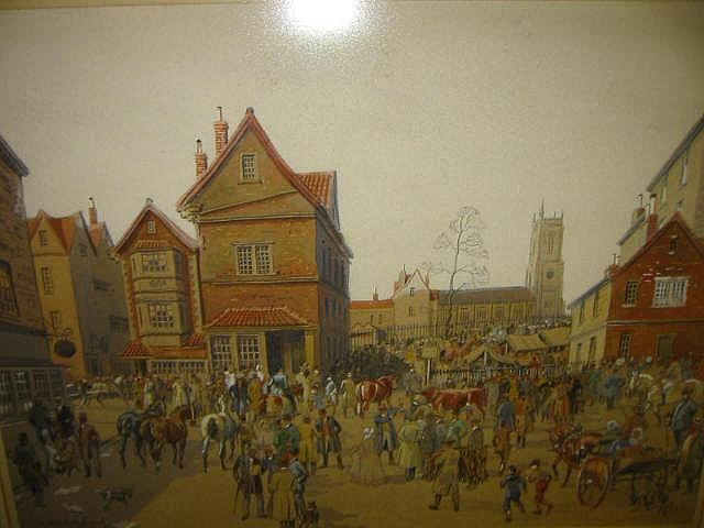 JOSEPH APPLEYARD (1908-1960), St James Fair,