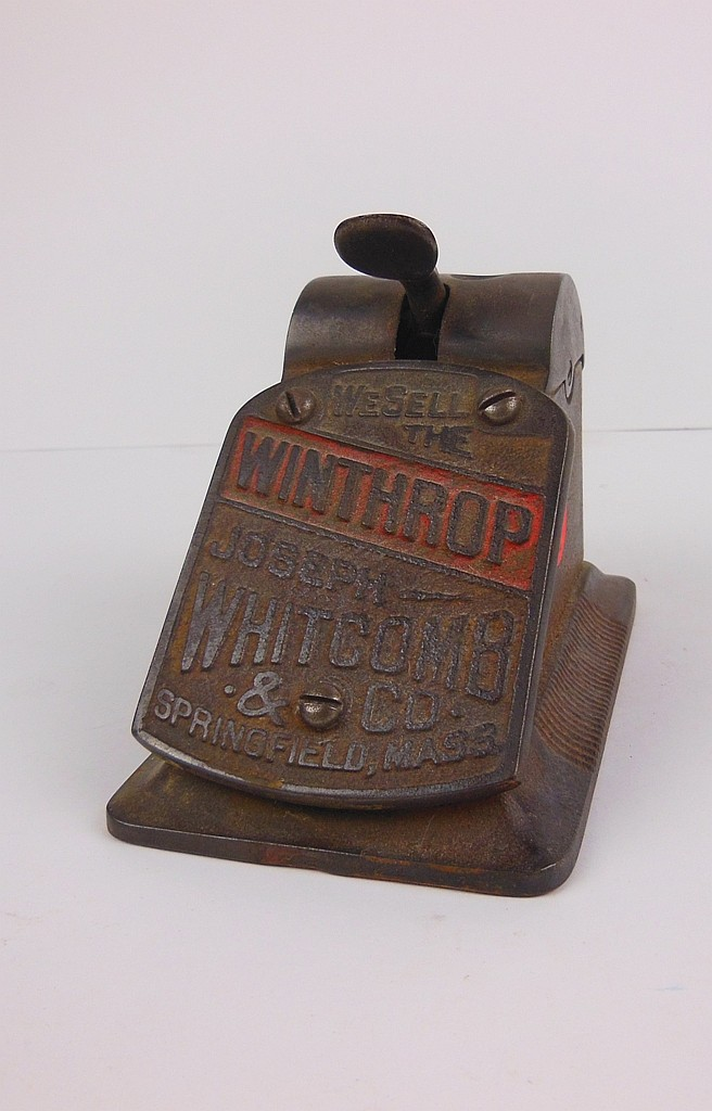 310. JOSEPH WHITCOMB & CO. WINTHROP CIGAR CUTTER SPRINGFIELD MASS