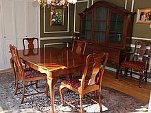 MONITOR CHERRY DINING ROOM TABLE & CHAIRS