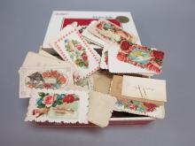 Box of Die Cut Calling Cards