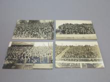 (5) Photocards University of Illinois Football Crowds