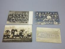 (4) Photocards of College Football Teams Montpelier