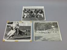 (3) Photographs, Penn State Joe Paterno & Players