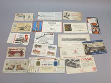 (17) Trade Cards & Blotters, Manure Spreader