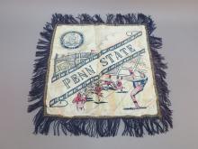 Penn State Pillow Sham with Football Scene