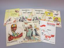 (7) Villanova Football Programs 1958-1960