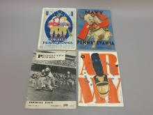 (4) University of Pennsylvania Football Programs 1916