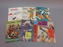 (6) Lehigh College Football Programs 1959-1964