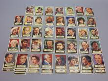 (48) 1952 Look n See Tops Gum Cards, Rembrandt