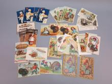 (33) Thanksgiving Postcards, International Art