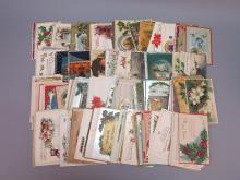 (182) Christmas Postcards, Whitney, Tuck