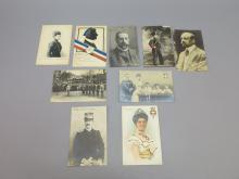 (8) Foreign Dignitaries Postcards, Italian Royal