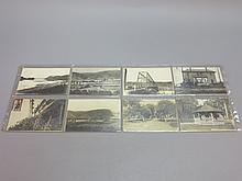 (16) Sunbury PA Photo Postcards, Fort Augusta, 2nd St
