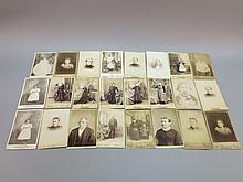 (24) Cabinet Portrait Photographs, PA Photographers
