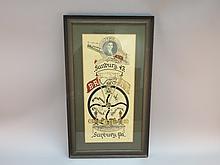 Brotherhood of Railroad Trainmen, Sunbury PA 1902 Poster