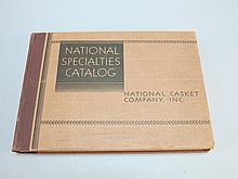 National Casket Company National Specialties Catalog 1930