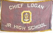 Chief Logan Junior High School Silk Banner