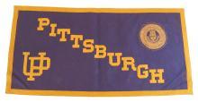 University of Pittsburgh Rectangular Felt Banner