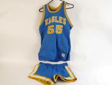 Eagles Basketball Uniform #55
