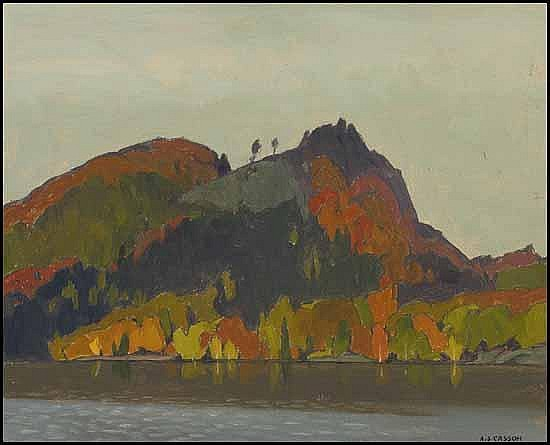 A.J. (Alfred Joseph) Casson 1898 - 1992 Canadian
