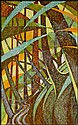 Sybil Andrews 1898 - 1992 Canadian linocut in 4, Sybil Andrews, Click for value