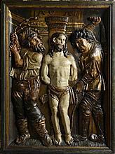 UNKNOWN GERMAN MASTER FLAGELLATION OF CHRIST
