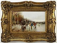 JAN SAFARÍK (1886-1914) CARNIVAL IN PARIS