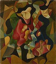 JAROSLAV VERIS (1900-1983) ABSTRACT COMPOSITION