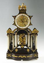 MANORIAL EMPIRE TABLE CLOCK
