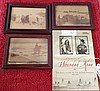 Book & 3 Framed Matching Photos from Wounded Knee