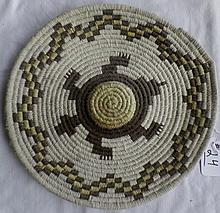Papago Yarn Basketry Effigy Tray