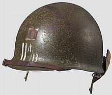 A steel helmet M 1 US 11th Airborne Division