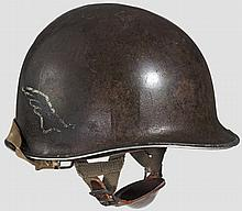 A steel helmet M 1 US 82nd Airborne 3rd Battalion 508th PIR