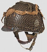A steel helmet M 1 101st Airborne 2nd Battalion 506th PIR