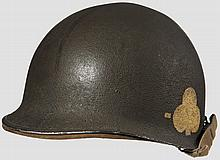 A steel helmet M 1 US 101st Airborne 327th GIR