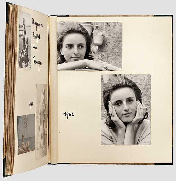 Eva Fegelein (Berlinghoff) - Fotoalbum 1945 - ca. 1966/67.