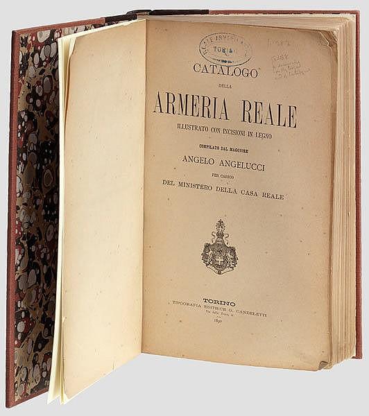 ALTE WAFFEN - LITERATUR UND GRAFIK - Angelo Angelucci, Catalogo della Armeria Reale Torino