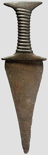 ÄGYPTEN UND MESOPOTAMIEN  Bronzedolch, östlicher Mittelmeerraum, ca. 2000 - 1200 v. Chr.