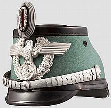 Tschako für Offiziere der Schutzpolizei